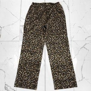Ambrielle Silky Cheetah Pants